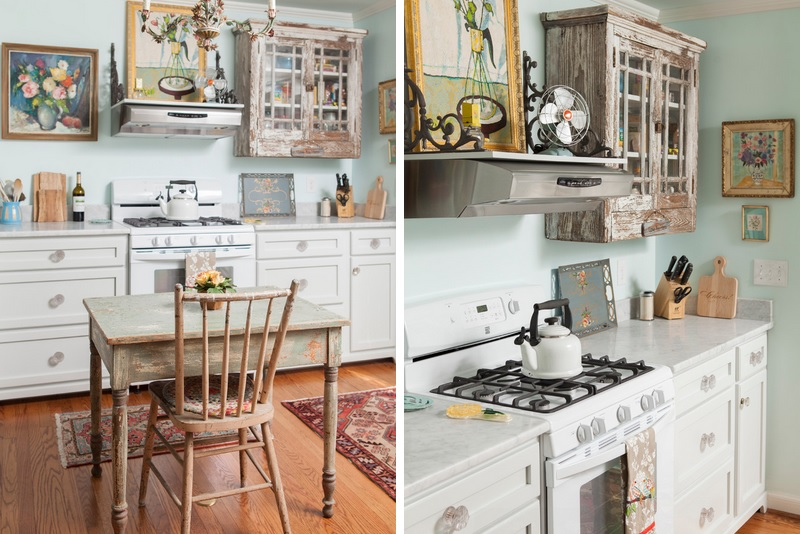 Nice Shabby Chic Kitchen Design Closer