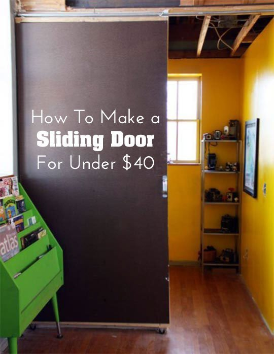 Sliding Door Under 40 dollars