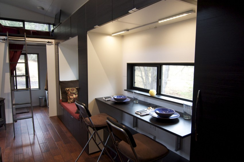 Small Home on Wheels Closer to window