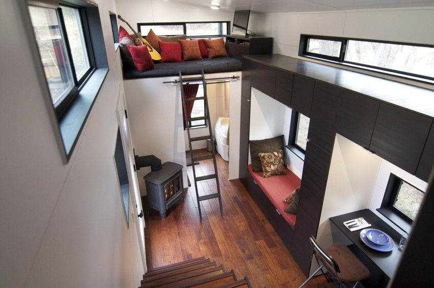 Small Home on Wheels Custom Furniture