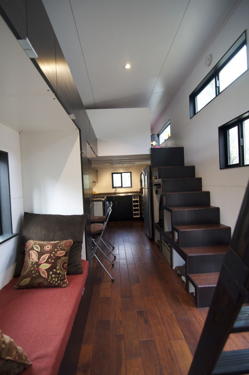 Small Home On Wheels Stairs