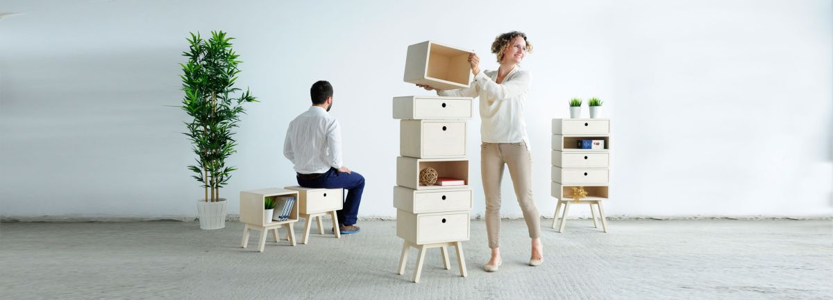 Stack furniture from designer Rianne Koens decor