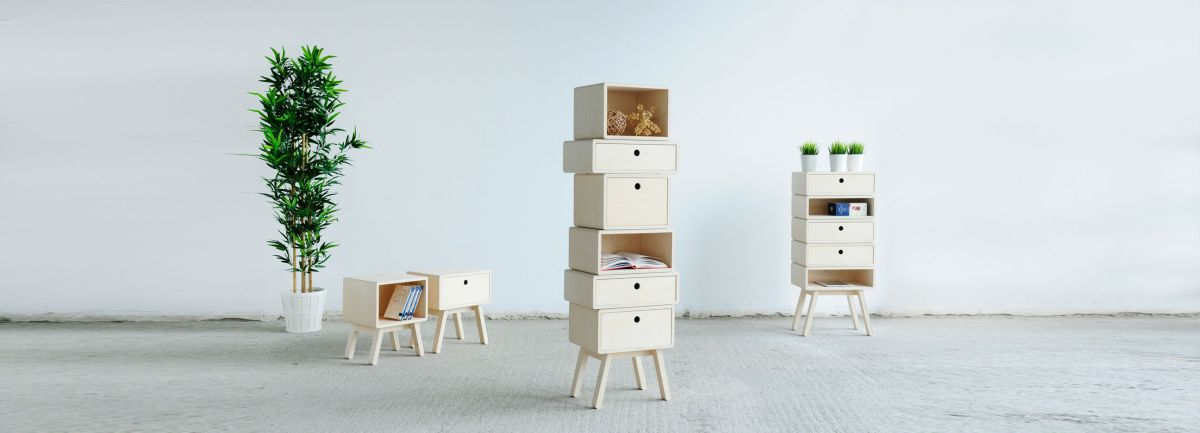 Stack furniture from designer Rianne Koens