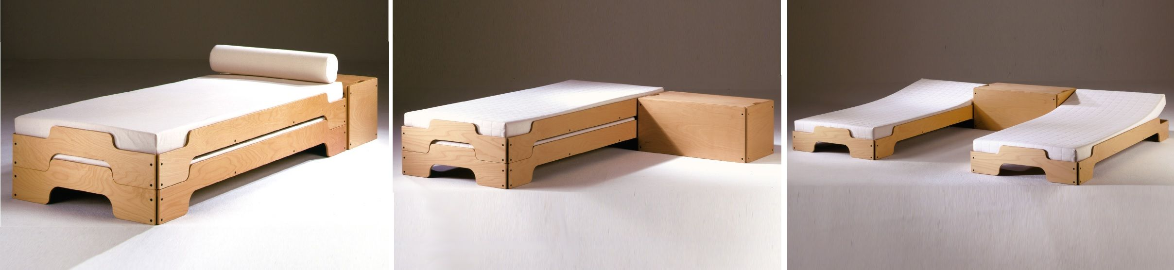 Stackable bed system