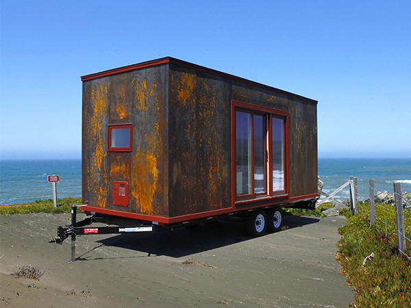 Modern Tiny House On Wheels live a big life in a tiny house on wheels