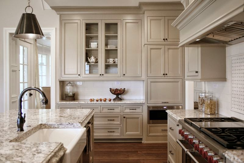 Taupe kitchen color design