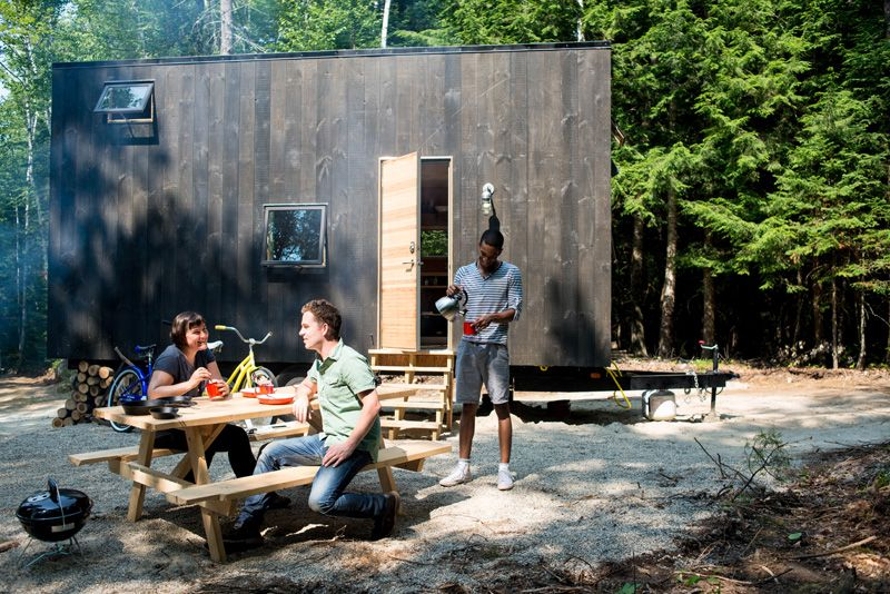 Test-Driving Tiny House Living