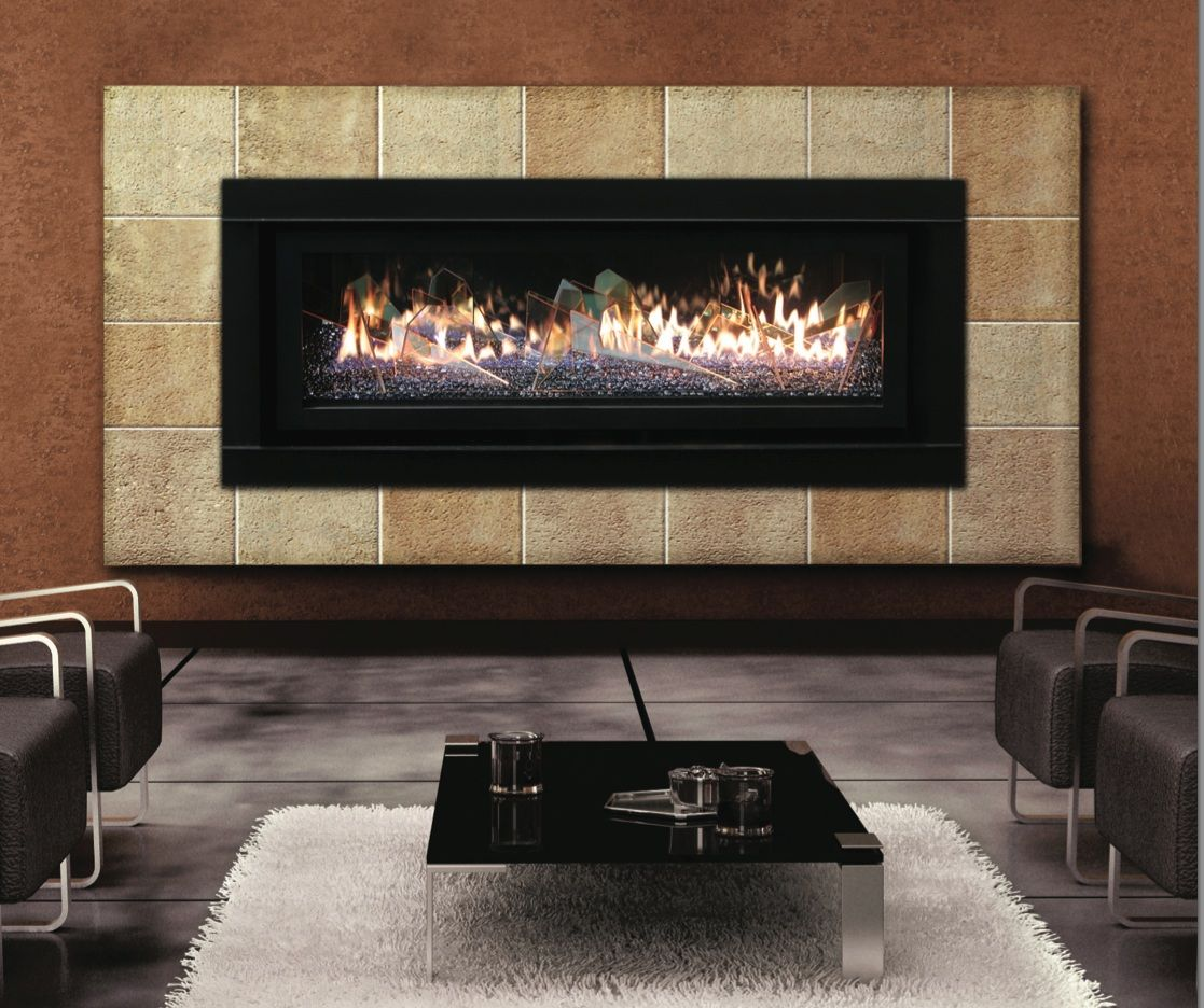 Tile Frame Fireplace