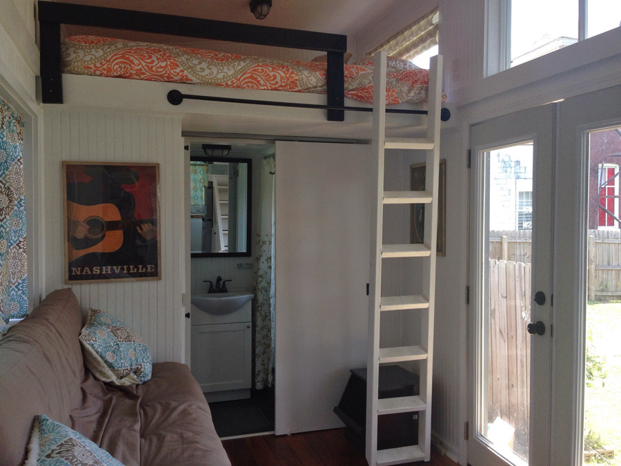 Tiny House in Nashville Decor