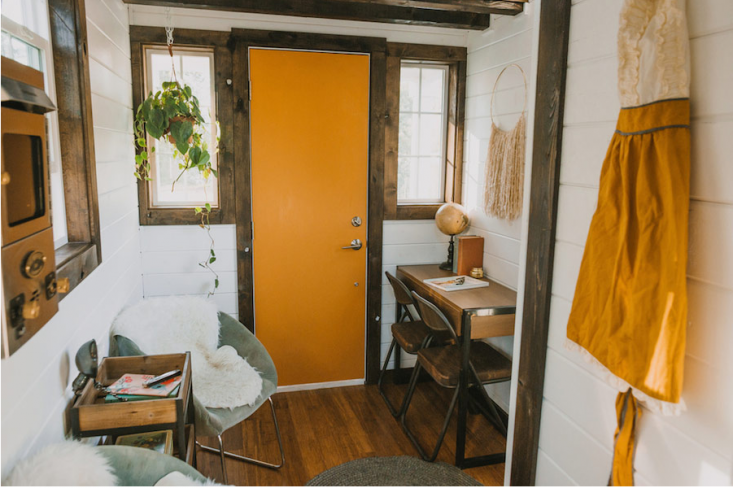Tiny Luxe House On Wheels Interior