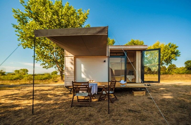 Tiny Vacation Home On Wheels Extension