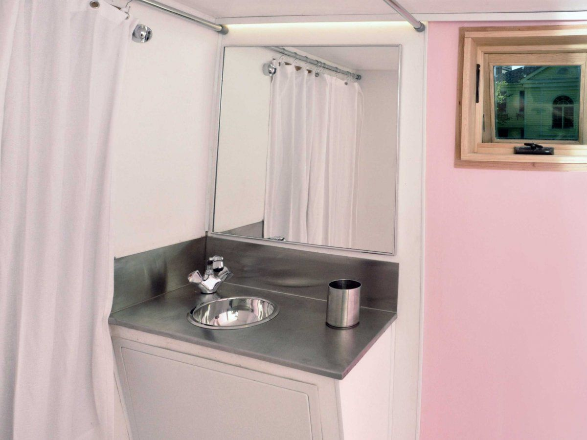 Live A Big Life In A Tiny House On Wheels - Bathroom drawers on wheels for bathroom decor ideas