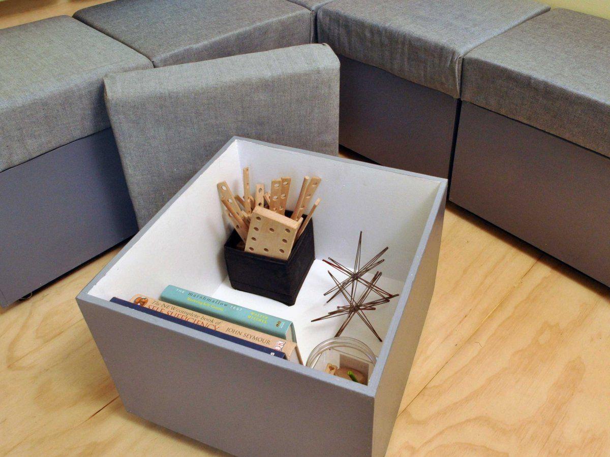 Toy Box Tiny Home on Wheels Storage
