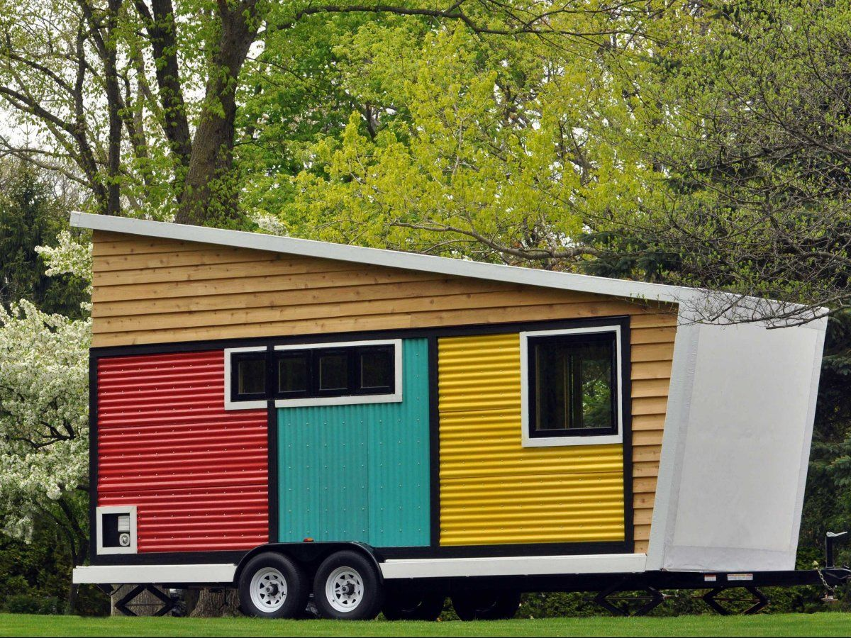 Toy Box Tiny Home on Wheels