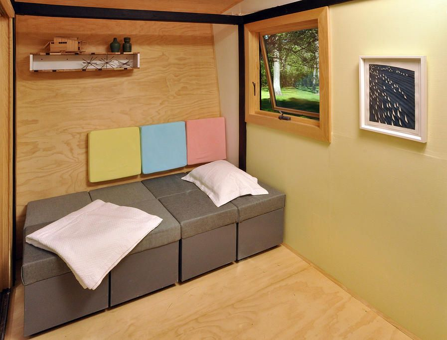 Toybox Tiny Home Modular Furniture. Live a Big Life in a Tiny House on Wheels