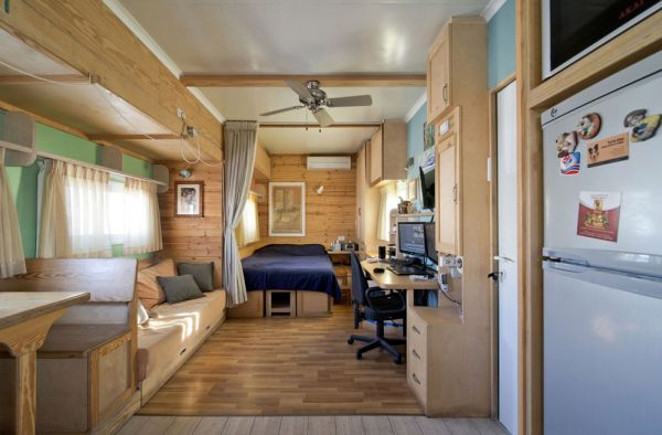 Truck Home on Wheels interior