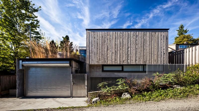 Vancouver grandma house guest house facade