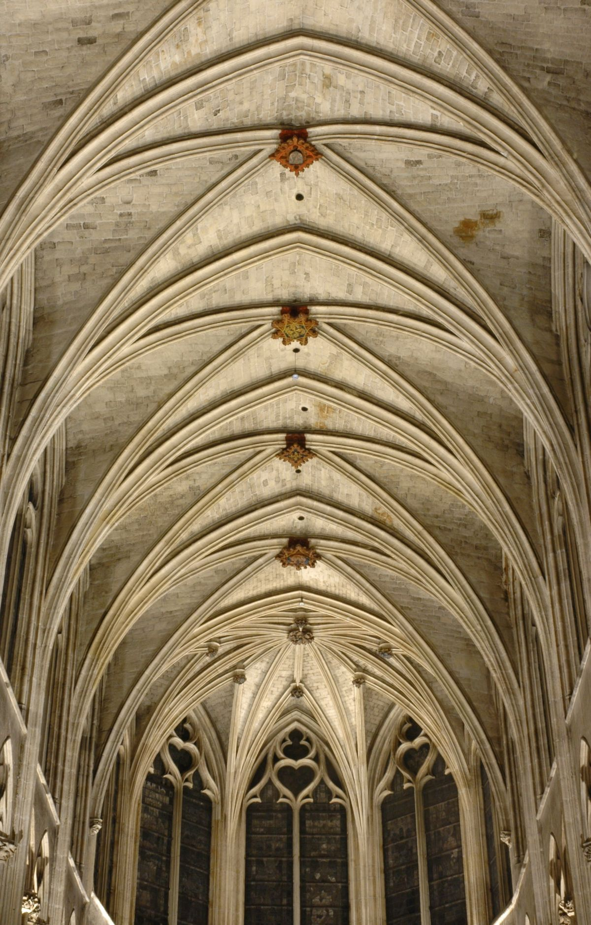 Vaulted Ceilings Comes From Medieval Times
