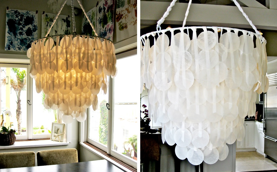 Diy chandeliers that will light up your day wax paper chandelier diy mozeypictures Gallery