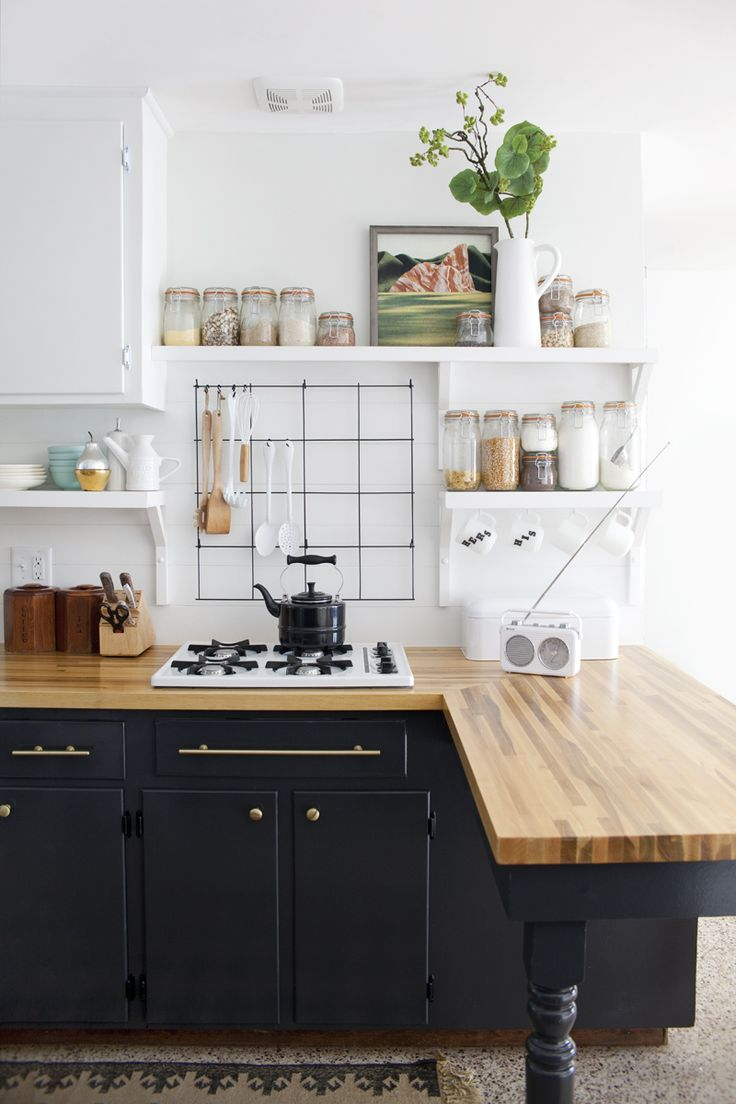 Go Halfsies in Your Kitchen with Bi-Colored Cabinets