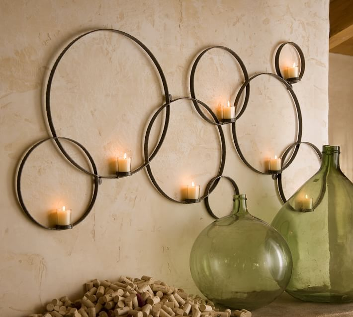 circles sconce