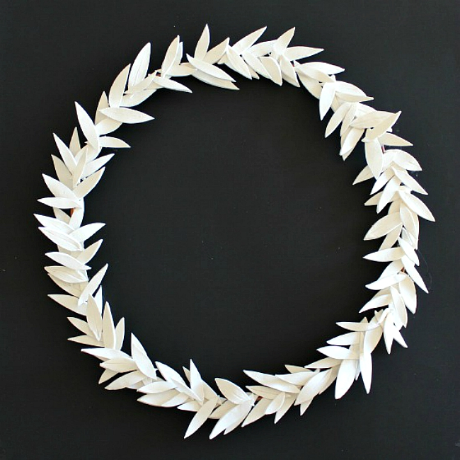 clay wreath