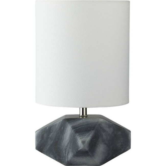 marbled geo lamp
