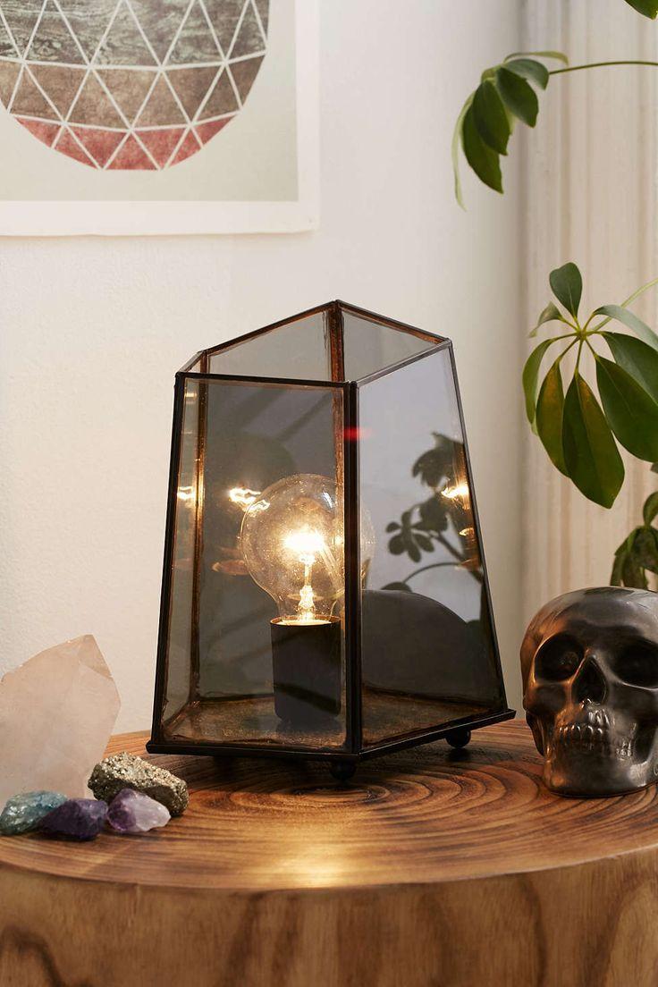 modern geo lamp