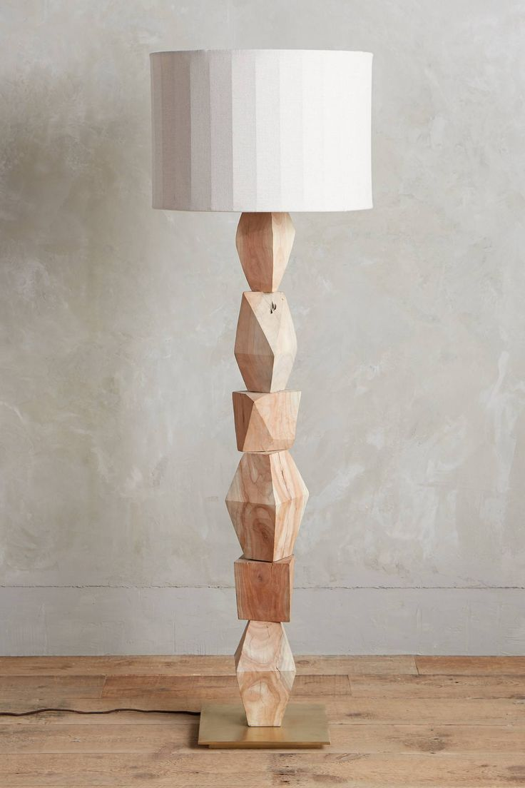 stacked geo lamp