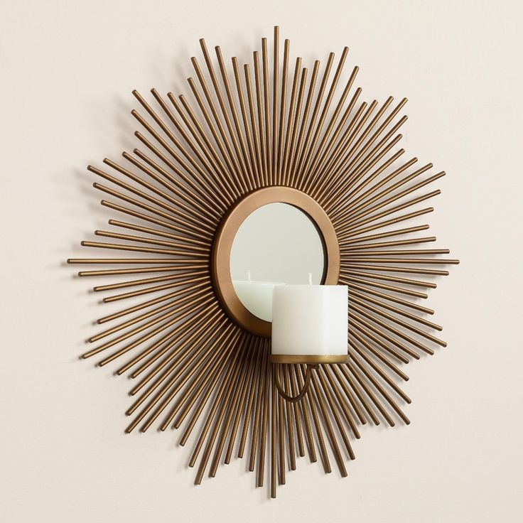 Awesome Sunburst Sconce