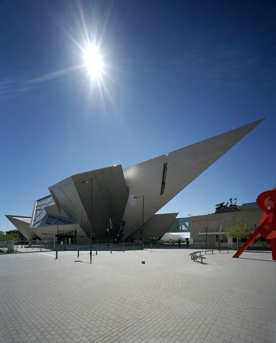 Architecture Denver Art Museum by Daniel Libeskind