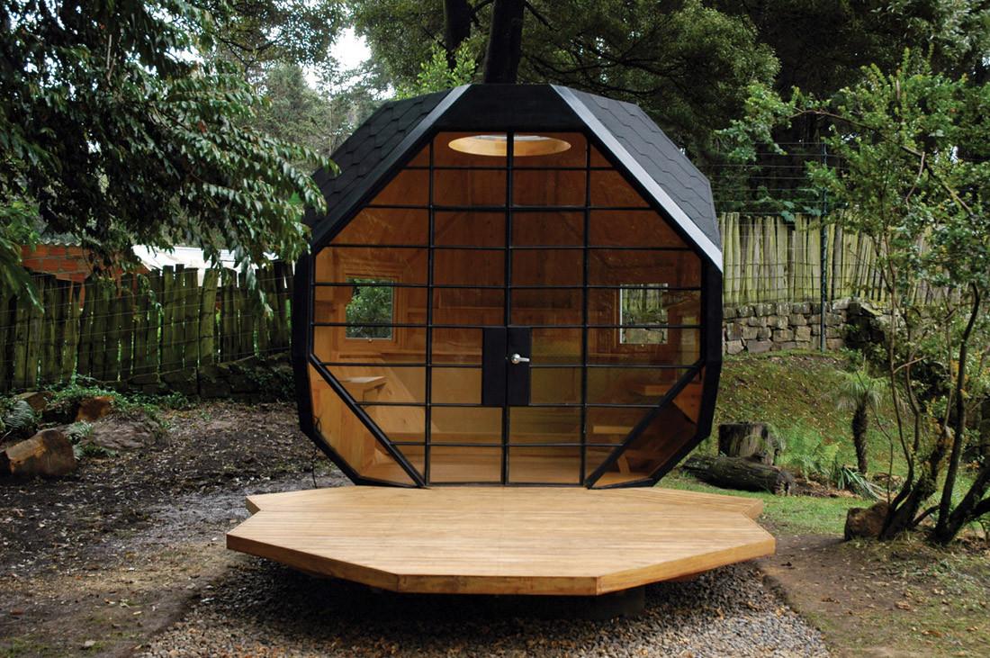 Backyard Pod Front