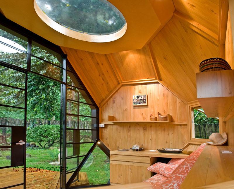 Backyard Pod Interior