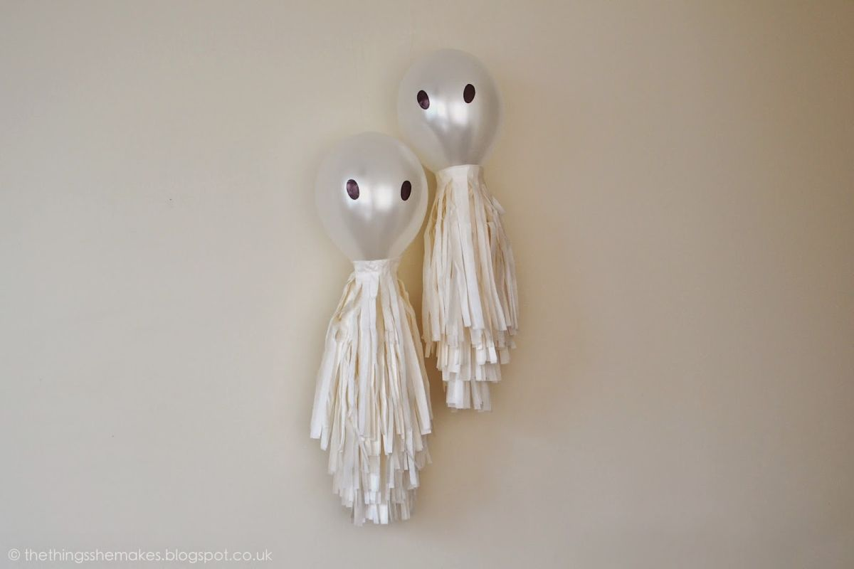 Balloon ghosts