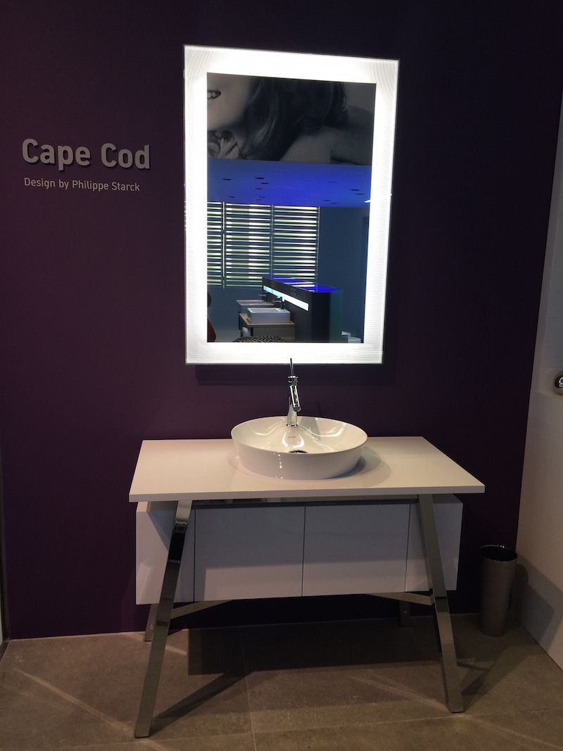 Bathroom Cape Cod Sink designed by Philippe Starck