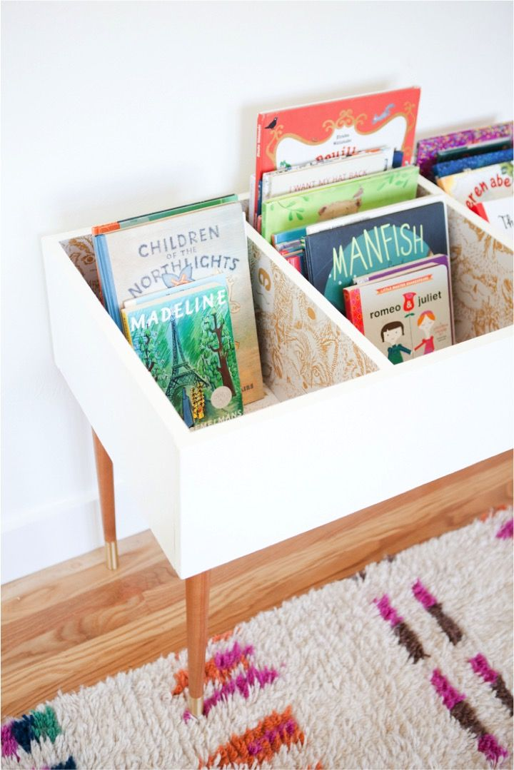 Book Bin Storage Nice Design