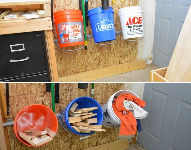 Bucket storage for miscellaneous