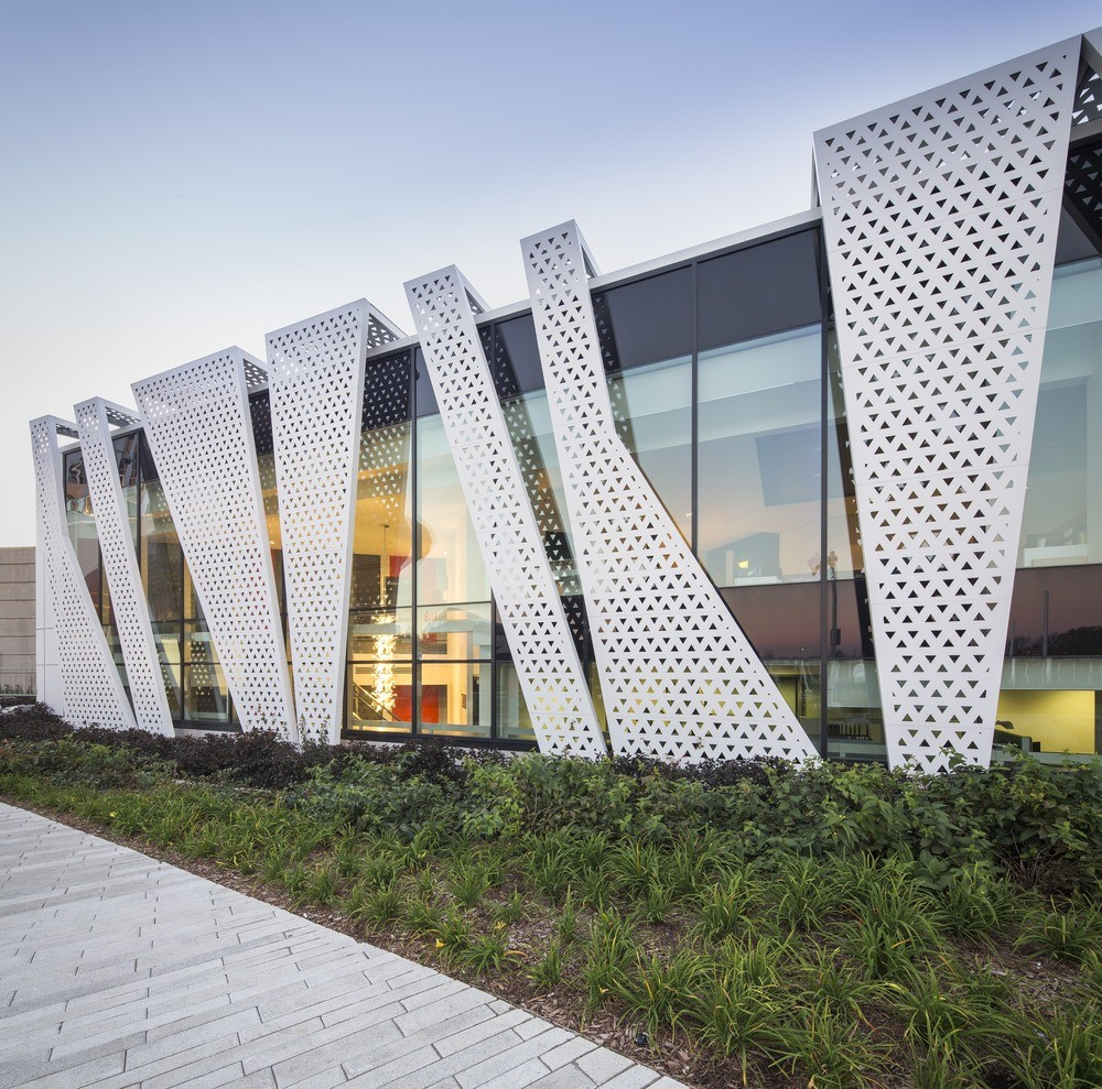 Perforated building facades that redefine traditional design for Best building design