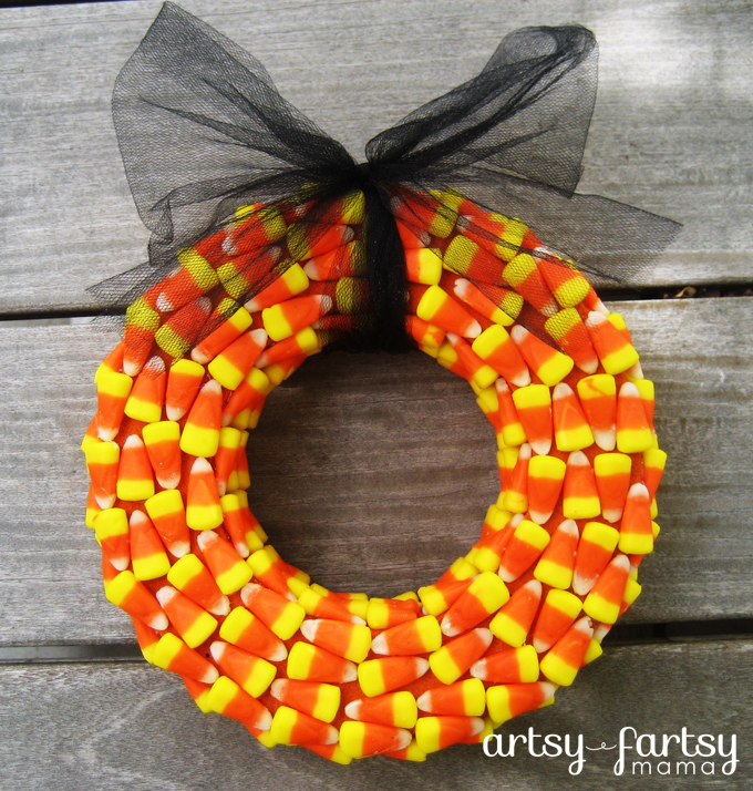 Cheap bold Halloween wreath