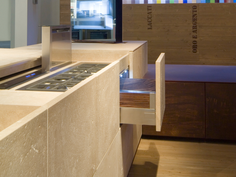 Contemporary Petra Kitchen Design Drawer