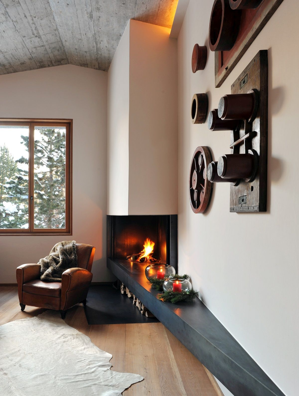17 Gorgeous Fireplaces You\u0027ll Totally Swoon Over