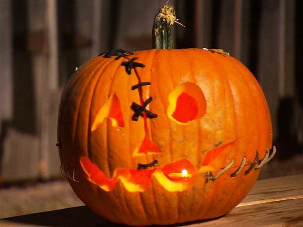 Create a Franken Pumpkin