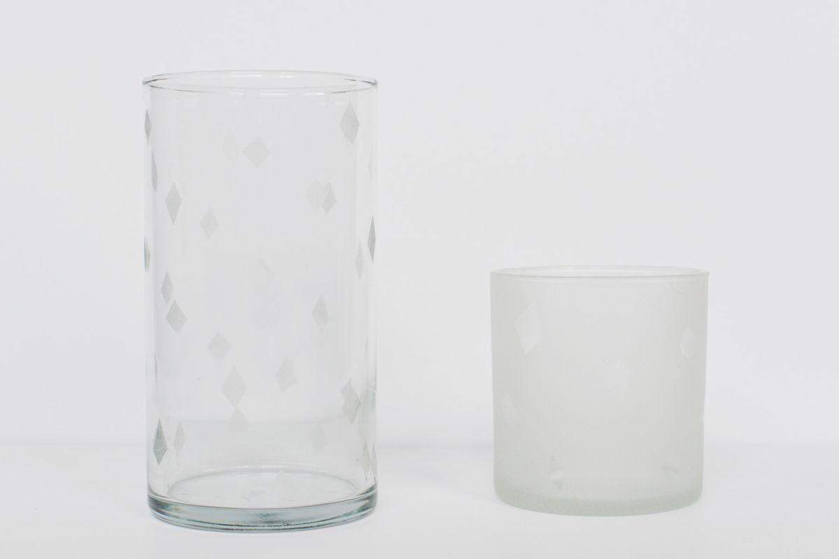 DIY Etched Glass Vase After