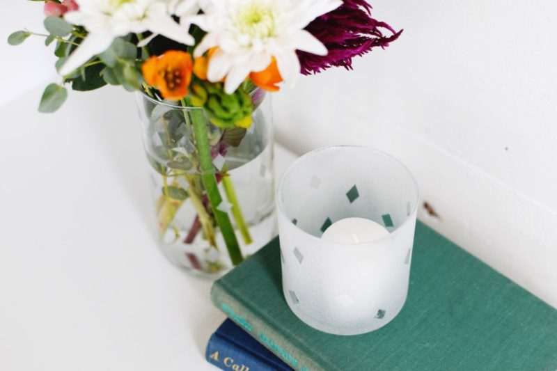 How To Etch Glass – Etching A Flower Vase With Cream