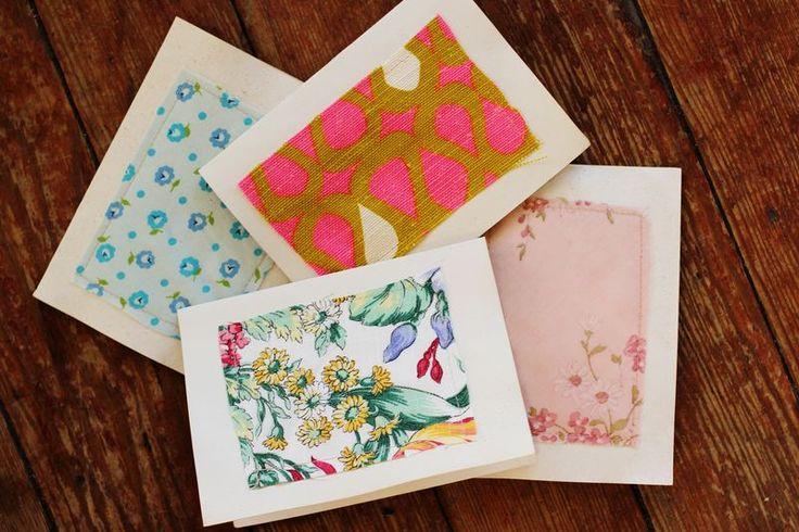 DIY fabric stationary