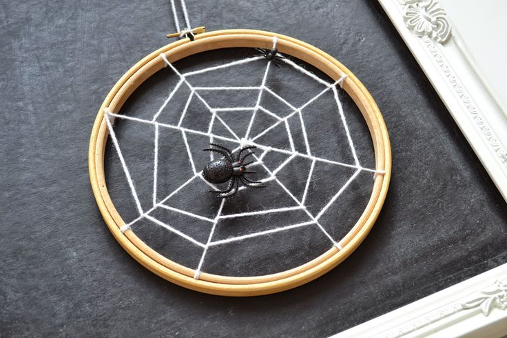 Embroidery hoop web