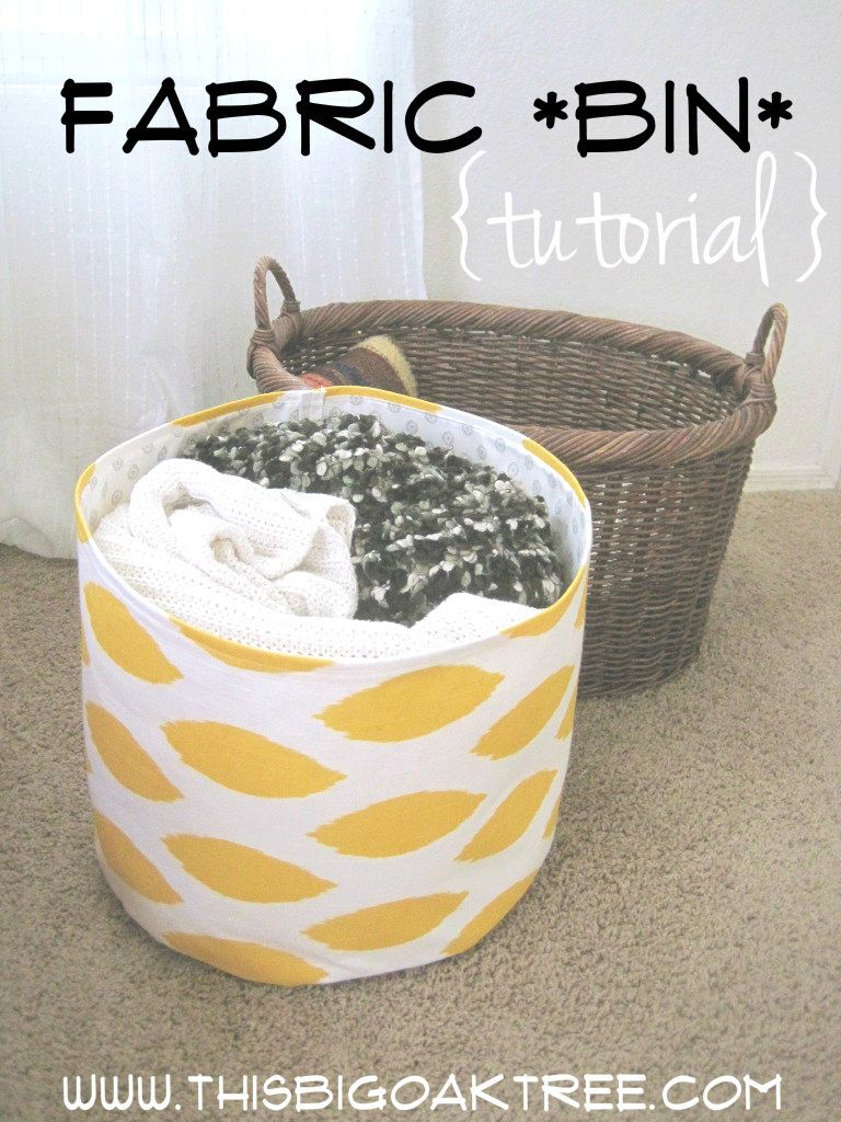 Fabric binn Tutorial