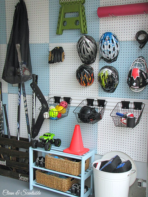 Garage Pegboard panels