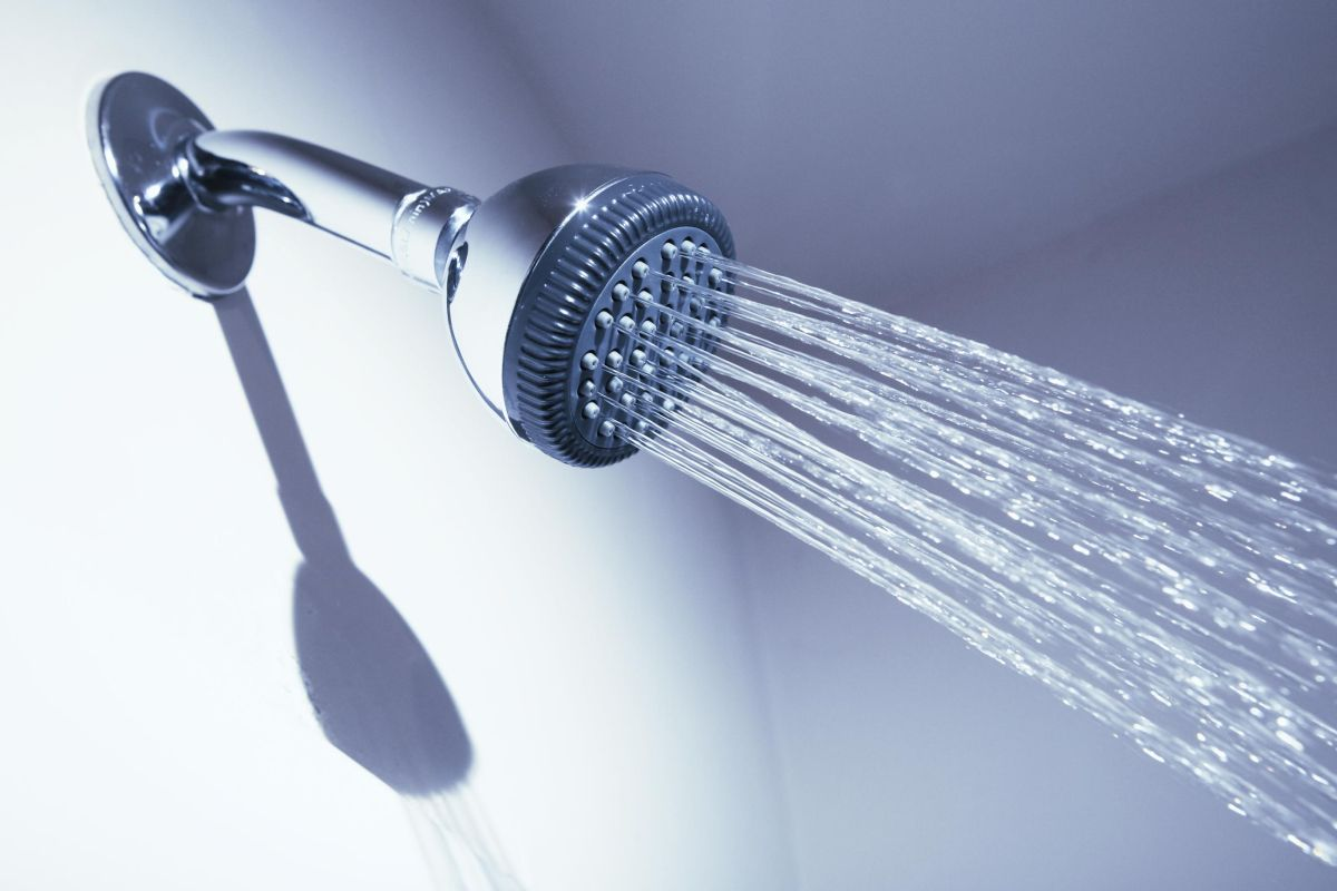 Good water flow is first reason for cleaning your shower head