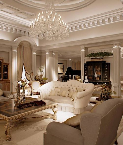 Grandiose living room Decor